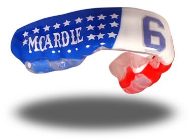 Kieran McArdle mouthguards