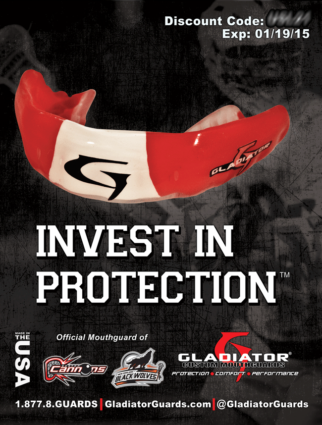 Gladiator Custom Mouthguards