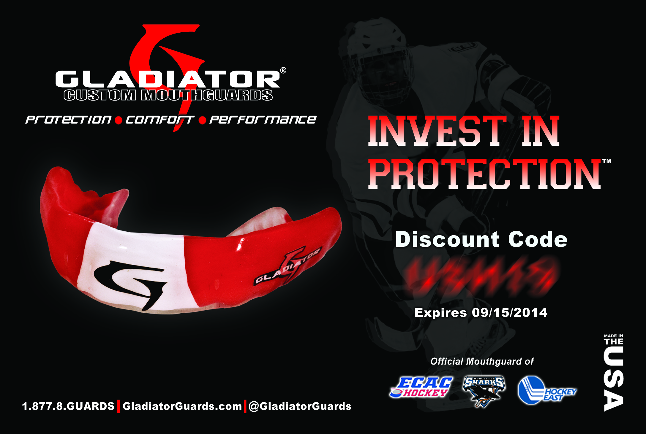 Gladiator Custom Mouthguards